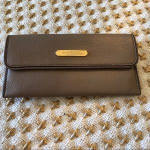 Michael Kors slim taupe color wallet